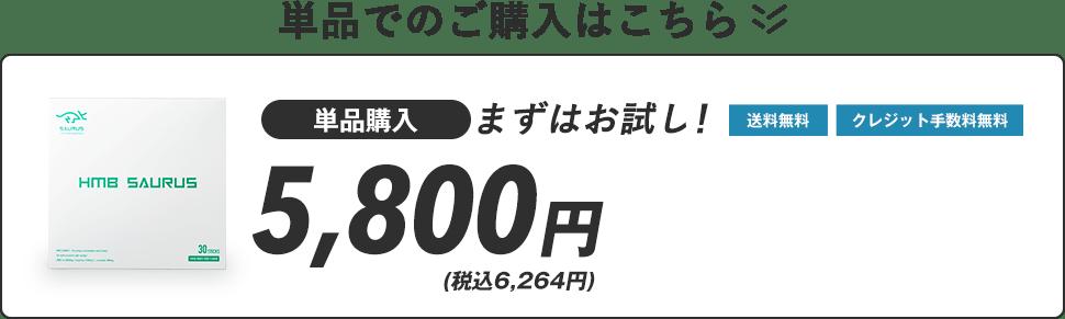 単品での購入はこちら!5,800円(税抜)送料無料 クレジット手数料無料